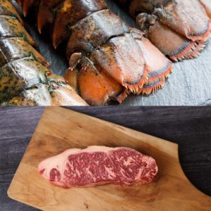 Striploin & Maine Lobster Tails